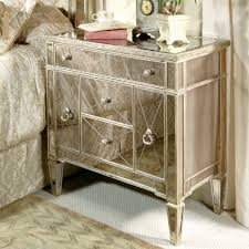 bassett mirror company borghese hall chest nightstand borghese furniture mirrored