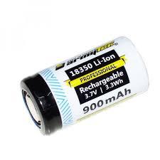 <b>Аккумулятор Armytek</b> 18350 LI-ION 900 mah. <b>Незащищённый</b> ...