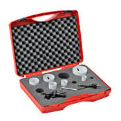 35 off 9pcs 22mm 73mm hss m3 hole saws kits with tools box bi metal saw for and wood hole cutting
