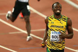 Image result for usain bolt spikes beijing 2015