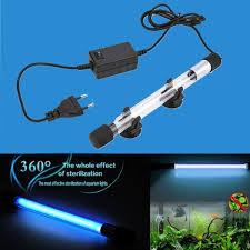 Fish Tank <b>UV</b> Light <b>Submersible UV</b> Sterilizer Lamp <b>7W 11W</b> 13W ...