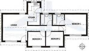 Simple Small House Floor Plans  Bedroom Mini st Small Two     Bedroom House Plan South Africa
