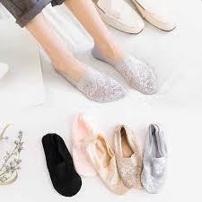 eTya <b>1 Pair</b> 2019 <b>Fashion Women</b> Summer Lace Sock <b>Female</b> Soft ...