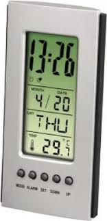 Цифровой термометр <b>Hama H-75298 серебристый</b>/черный ...