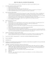 effective resume samples com effective resume samples to inspire you how to create a good resume 13