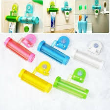 Rolling Tube Toothpaste Squeezer Dispenser Sucker <b>Hanging</b> ...