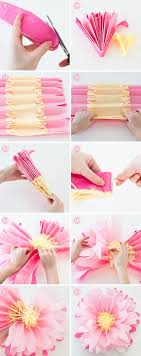these tissue paper flowers are gorgeous let the kids help make a these tissue paper flowers are gorgeous let the kids help make a bunch of these