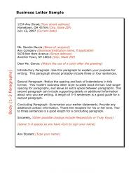 formal business letter format templates examples template lab formal business letter 18