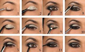 photo gallery of the some tips on how to do smokey eye makeup for brown eyes