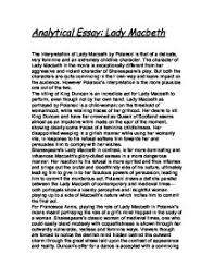 essay on macbeths character  college paper academic writing serviceessay on macbeths character