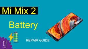 <b>Xiaomi Mi</b> Mix 2 Battery Repair Guide - YouTube