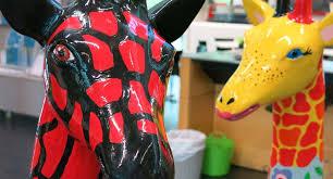 A tower of <b>giraffes</b> – Christchurch Stands Tall | Christchurch City ...
