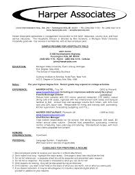 resume format for hospitality job equations solver resume hotel trainee as a man agement you will work