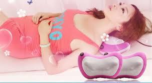 gối mát xa giảm đau toàn thân, gối massage hồng ngoại, gối mát xa tốt