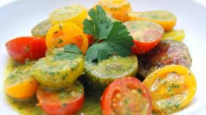 Resultado de imagen de fotos de ensalada de tomates variados