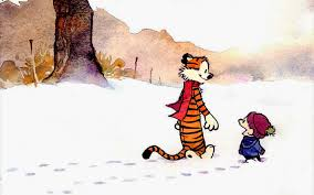Image result for snow day calvin and hobbes