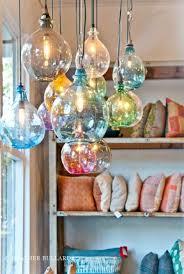 beautiful hand blown glass pendant lights blown glass lighting pendants