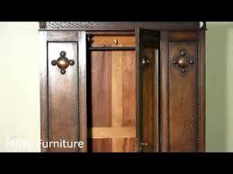 antique english quartersawn oak armoire wardrobe c1920 antique english wardrobe armoire