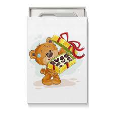 """Коробка для чехлов """"<b>Мишка Тэдди</b>"""" #2431065 от BeliySlon - <b>Printio</b>"""