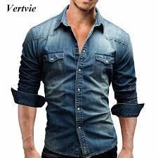 VERTVIE Hot Sales <b>Cotton Linen</b> Shirts Men Long Sleeve <b>Summer</b> ...