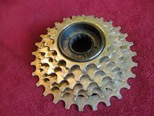 1 NOS Good Spinning Falcon Gold Ring 6 Speed Road <b>Bike MTB</b> ...