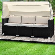 Deuba <b>Garden Sofa</b> Outdoor <b>Poly Rattan</b> 2 - Buy Online in Gibraltar ...