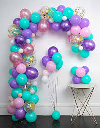 Amazon.com: <b>Unicorn Balloons</b> Arch 114pcs & Garland Kit (<b>Gold</b> ...