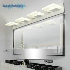 indoor sconce 12w led wall lamp mirror front lamps modern minimalist bathroom wall lamp 110v 220v lighting makeup lamp light bathroom makeup lighting