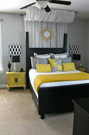 gray black and yellow bedroom color scheme bedroomamazing black white themed bedroom