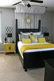 gray black and yellow bedroom color scheme bedroom grey white bedroom