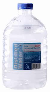 <b>Дистиллированная вода</b> 3л - купить с доставкой в интернет ...