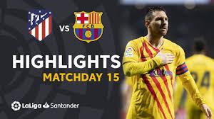 Highlights Atlético de Madrid vs FC Barcelona (0-1) - YouTube