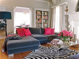 Zebra Living Room Decor Interior Design Ideas Luxury Living Room Design With Navy Blue