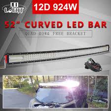 """<b>CO LIGHT</b> 22"""" 32"""" 42"""" 50"""" 52"""" Curved LED <b>Light</b> Bar 8D 12V 24V ..."""