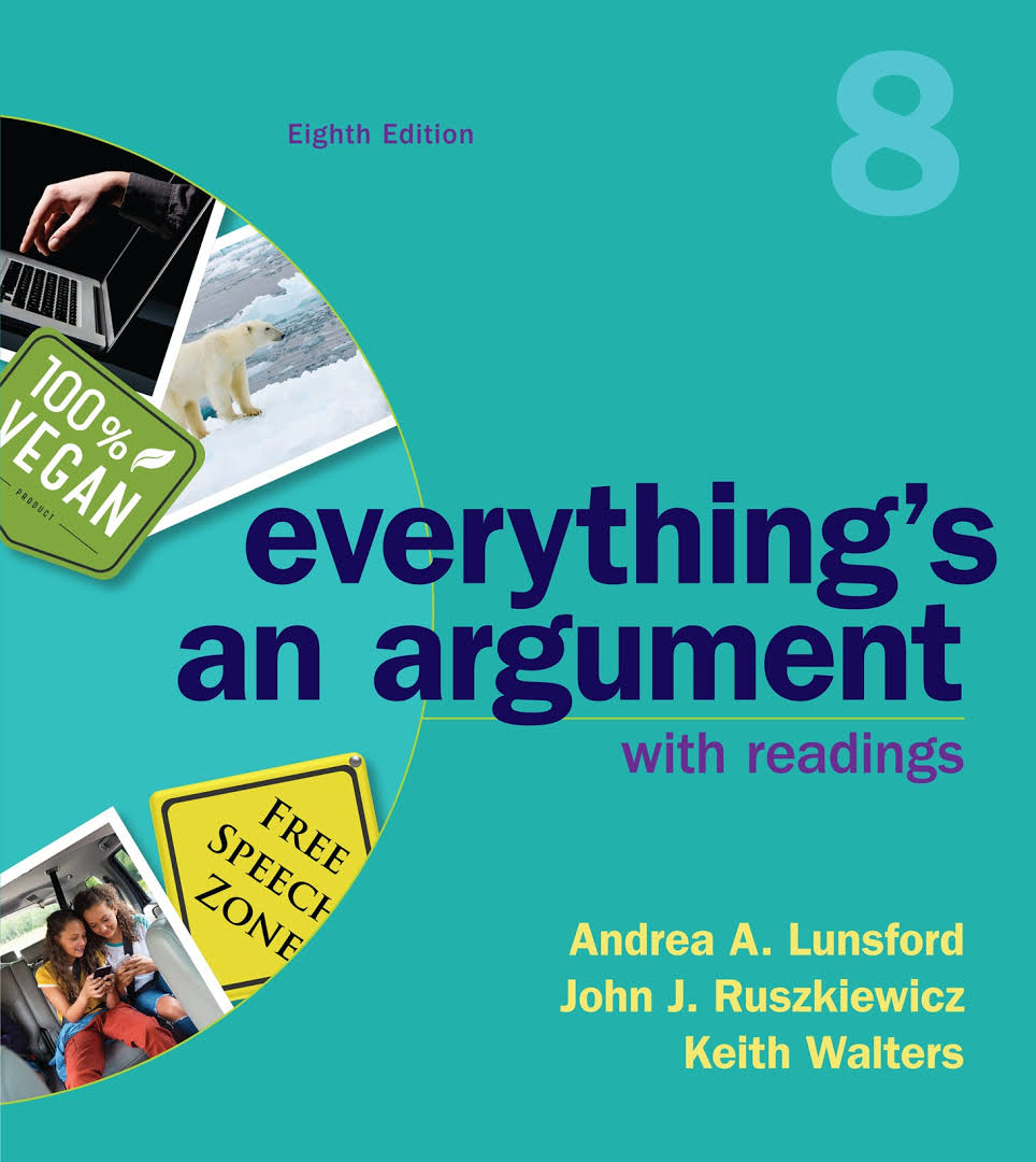 book-image-Everything's an Argument with 2016 MLA Update
