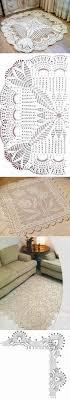 Связанные крючком коврики, Вязание <b>скатерти</b> крючком и ...