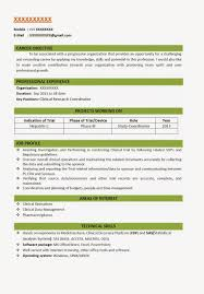 resume format for company resume format  58