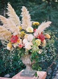 flowers wedding decor bridal musings blog: gorgeous pampas grass ideas for your wedding bridal musings wedding blog