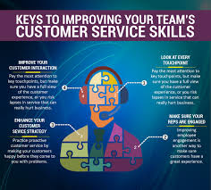 tips to improve your customer service skills visual ly tips to improve your customer service skills infographic