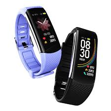 <b>C6S smart bracelet</b> medical grade color screen heart rate sports ...