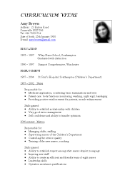 curriculum vitae one sample curriculum vitae two sample curriculum best cv format for jobs seekers giffaxoq