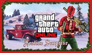 The <b>GTA Online</b> Festive Surprise - Rockstar Games