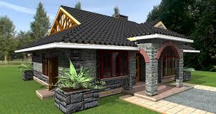 Deluxe  Bedroom Bungalow Plan   David Chola   Architect    bedroom bungalow plans by Kenyan architect