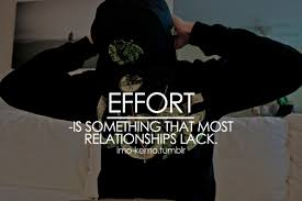 Quotes About Effort In Relationships. QuotesGram via Relatably.com