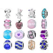 <b>CUTEECO</b> Beads Fit Pandora <b>DIY</b> Bracelet Necklace Pendant ...
