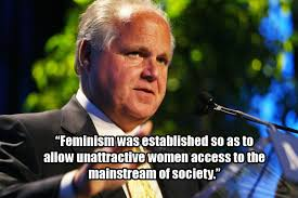 Rush Limbaugh's 9 Most Appalling Comments On Women | publichealthwatch via Relatably.com