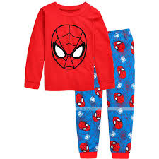 popular pajama pants boys buy cheap pajama pants boys lots from new kids baby boy spiderman top pants pajama nightwear sleepwear pjs clothes set