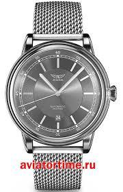 <b>Часы AVIATOR V</b>.<b>3.32.0.240.5</b> - Швейцарские наручные <b>мужские</b> ...
