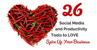 26 Productivity and Social Media Marketing Tools to Spice Up Your ...