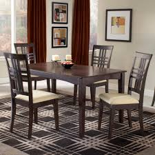 Five Piece Dining Room Sets Havana 5 Piece Dining Set Espresso Furniture Walmartcom Flooring